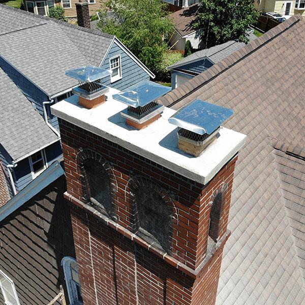 Chimney Cap Repair & Installation in Rochester NY